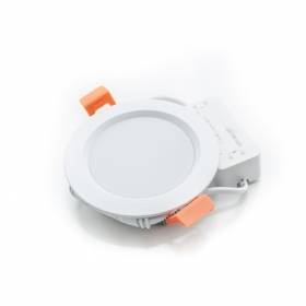 Led spotlight 8w panel, recess