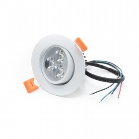 Led spotlight rgb 5w 12v recessed a