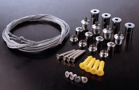 Professional Kit 4 steel cable