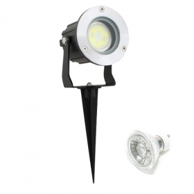 Led spotlight, 5w, with picket