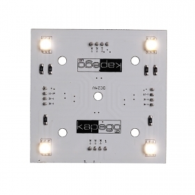 Led panel modular panel 4 led 1.5 w 24v plate surface-mounted modular