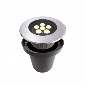 Spotlight floor recessed floor ground IP67 led 10w asymmetric optics