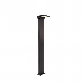 Pole 100cm with led technology 10w light output 100w warm light for outdoor use