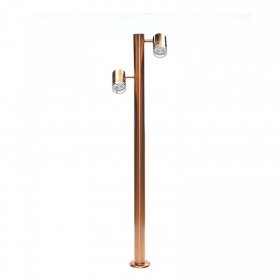 Lamp in stainless steel colour copper led gu10 14w 230v light 3000k 4000k 6000k