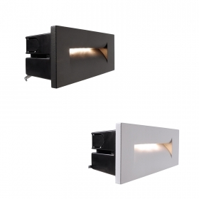 Path light led 8w wall recessed asy