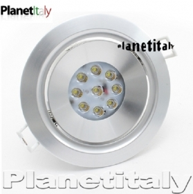 Led spotlight 18w hole for flu