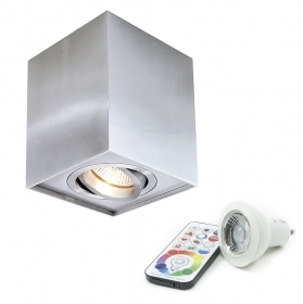 Lamp led downlight led ceiling light led ceiling 6w RGBW multi color and cool white LED