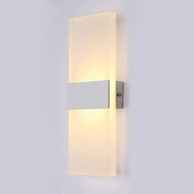 Wall sconce light living room bedroom ladder corridor wall lamp led 12w 230v