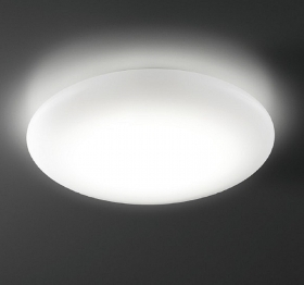 LED ceiling lamp 12W 1080Lm diffused light ceiling lamp round 230v made 110w