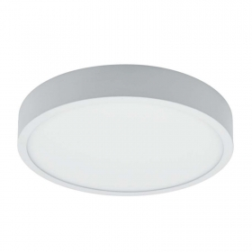Applique plafoniera led tonda pannello tondo luce naturale 4000k superficiale