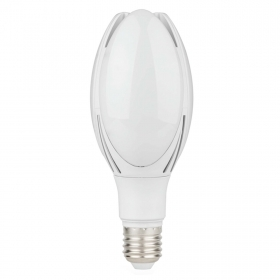 Ampoule lampe led 50w attaque de la E40 en direction industrial road remplacement hqi