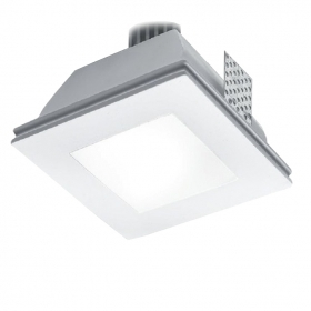 Kit spotlight recessed fully recessed ceiling plasterboard led lamp gu10 5w