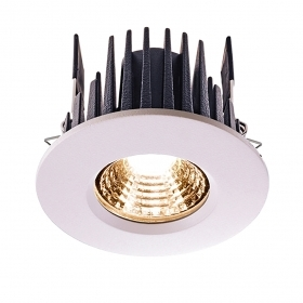 Led spotlight DIMMABLE 6.5 w IP65 shower sauna humid spot hole 68mm