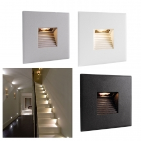 Led spotlight 2.2 w, recessed