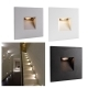 Led spotlight 2.2 w, recessed path light square lighting internal stairs IP20
